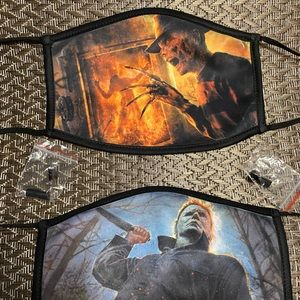 Michael and Freddy men's face mask